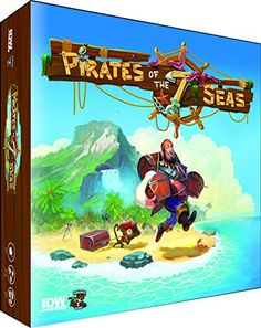 Pirates of the 7 Seas Board Game