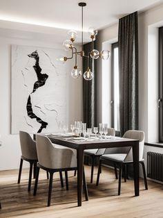Sophisticated Modern Glamour (Home Tour) #architecture #areaexterna #inspiration #project #regram #casa #nyttår #nyttårsbord #borddekking #detaljer #newyear #tablesetting #details #interior