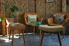 Featuring a tiki style patio & décor, Generations is a charming little retro cafe that warrants a nostalgic detour from town Cafe Chairs, Dining Chairs, Brisbane Cafe, 1970s Decor, Kids Cafe, Retro Cafe, Cafe Restaurant, Upholstered Chairs, Hotels And Resorts