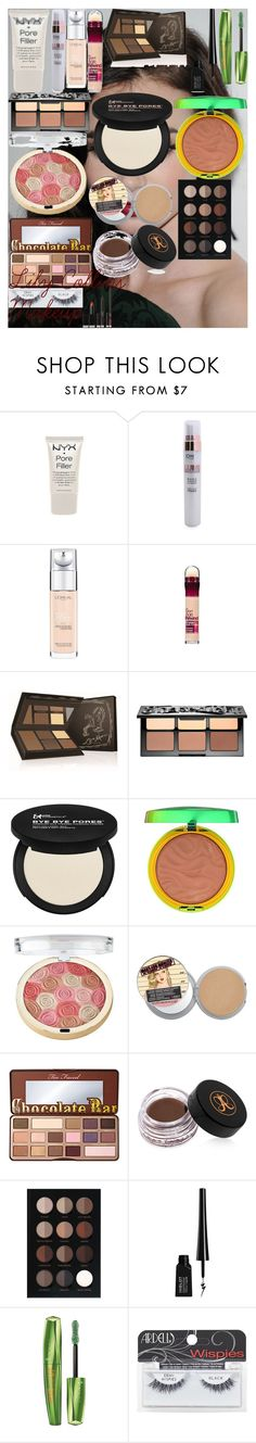 Lily Collins Makeup by oroartye-1 on Polyvore featuring beauty, Anastasia, NARS Cosmetics, Ardell, Sephora Collection, Too Faced Cosmetics, Bobbi Brown Cosmetics, It Cosmetics, Anastasia Beverly Hills and Physicians Formula