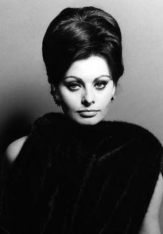 Sophia Loren (her face looks like my mom)