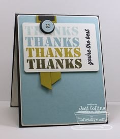 Featuring: Sending Thanks!