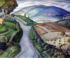 """Harry Epworth Allen (1894-1958), """"Summer"""" (1940)"""