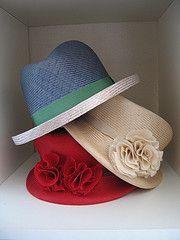Hand made Parasisal hats