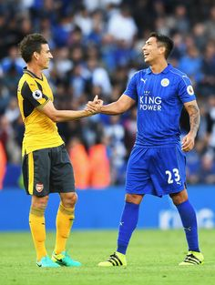 Laurent Koscielny Photos - Leicester City v Arsenal - Premier League - Zimbio