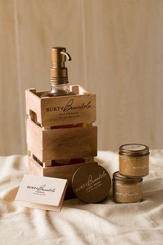 Burt & Bumble: A Home-made Honey Brand Extension by samantha schneider, via Behance