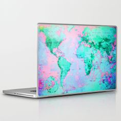 Wanderlust Laptop Skin