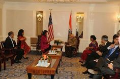 Narendra Modi gets Gita as gift from US lawmaker Tulsi Gabbard (album 15 photos)