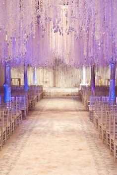 Tons of impressive décor ideas and advice from celebrity wedding planner Preston Bailey! Wedding Aisles, Wedding Entrance, Preston Bailey, Winter Wedding Decorations, France, Crystal Wedding, Celebrity Weddings, Wedding Designs, Wedding Planner