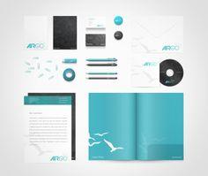 Air Go logo and #branding by Moe slah, via Behance #identity