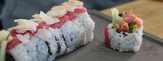 Zeste   Maki californien au thon rouge épicé à la menthe
