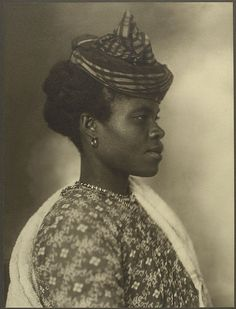 Guadeloupean woman at Ellis Island, 1911, by Augustus Sherman NOT ALL black people that came to America were on slave ships.