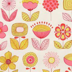 Alexander Henry Urban Garden in Pink von DinoFabric auf DaWanda.com. Me encantan las telas de Alexander Henry. Son totales. Rompedoras algunas, chocantes otras, aquí pondré solo las que estoy considerando para casa.