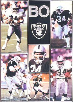 "Bo Jackson LA Raiders Giant Poster 42"" X 58"""