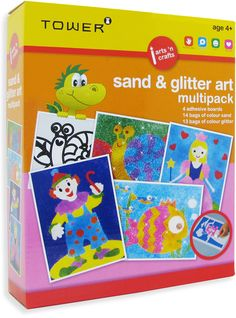 Enjoy all your favourite designs in one pack! These multipacks are the ultimate 'edutainment' product that will keep kids entertained for hours while having fun learning! Glitter Art, Art Activities, Toy Store, Baby Accessories, Fun Learning, Arts And Crafts, Stationery, Gift Wrapping, Kids