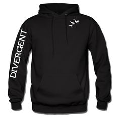 Divergent Hoodie Front & Arm Tris's tattoo Sweatshirt-Inspired By Veronica Roth #Gildan #HoodedSwearshirt