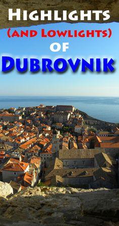 Views from the city walls: http://bbqboy.net/highlights-lowlights-dubrovnik-croatia/ #dubrovnik #croatia