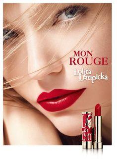 Sasha Pivovarova Stars in Lolita Lempicka Mon Rouge Campaign