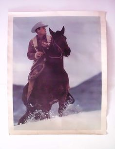 Vintage Smoking Cowboy Marlboro Man Poster by PoorLittleRobin, $25.00