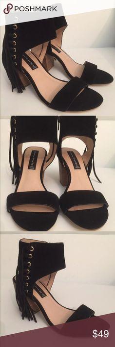 Steve Madden sandals black size 7 1/2 Elegant brand new Steve Madden sandals black size 7 1/2 Steve Madden Shoes Sandals