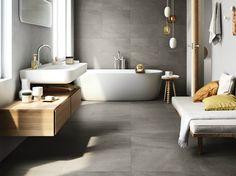 Wand- und Bodenbelag aus Feinsteinzeug mit Stein-Effekt LIMESTONE by COTTO D'ESTE