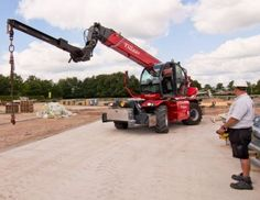 Remote controlled telehandler