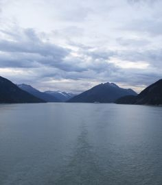 Surrounded by serenity. #alaska #cruise