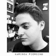 Eyebrow Piercing http://instagram.com/karincatattoo #eyebrowpiercing #piercinggirl #eyebrow #piercings #studio #art #istanbul #kadıköy #acıbadem #piercingdelimi #piercingaddict #piercinglove #piercingideas #piercing