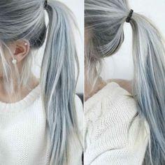 Cabello gris fotos cabello plateado | Swagger