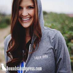 Kappa Delta Embroidered Item | #LoveTheLab houndstoothpress.com | Fraternity and Sorority Embroidery Shirts |  TShirts | Sorority T-Shirts | Classic Sorority T-Shirts | Custom Greek TShirts | Greek Life | Custom Greek Apparel | Sorority Clothes | Comfort Colors Tank | Sorority T-Shirt Ideas | Custom Designs | Custom TShirts |Sorority Spring Break | Custom Screen printed shirts | Custom Greek Screenprinting |Custom Printed Sorority TShirts | Custom Printed T-Shirts |