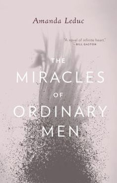 Miracles of Ordinary Men by Amanda Leduc. This is the story of two unlikely dreamers: Sam, a man who wakes up one day to find himself growing wings, and Lilah, a woman who has lost her brother to the streets of Vancouver.