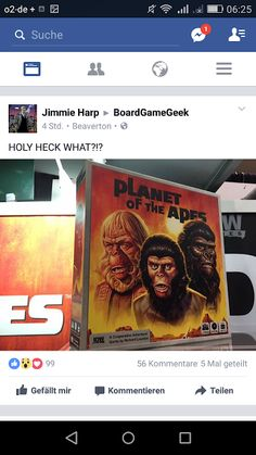 GAME DEPARTMENT: Planet of the apes