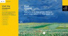 The story behind the new Van Gogh Museum website   http://www.obeymagazine.com/van-gogh-museum-website/  #interview #interface #ux #design #storytelling