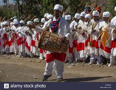Ethiopian Orthodox Priests Celebrating The Colorful Timkat Epiphany Stock Photo, Royalty Free Image: 73214145 - Alamy