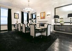 Stylish period house in Mayfair London, on the market Property For Sale, Period, Home And Garden, Dining Room, Real Estate, London, Marketing, Bedroom, Stylish