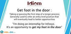 #Idiom Via MBAonEMI