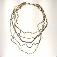 Stainless steel necklace - LALOU Stainless Steel Necklace, Gold Necklace, Chain, Jewelry, Gold Pendant Necklace, Jewlery, Jewerly, Necklaces, Schmuck
