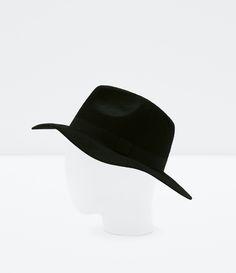 Woolen floppy hat | Zara