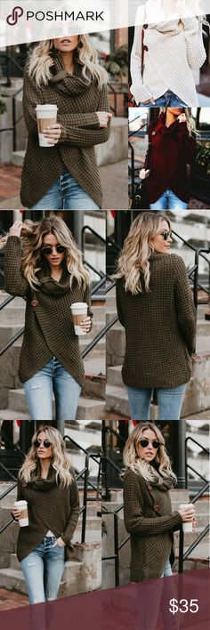 3fec56a35da3d JUST IN❣🆕️Casual Knitted Sweater Brand New Delicate knitted sweater keeps  you warm and