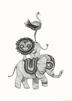 Mini Empire Poster - Elephant Africa