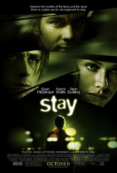 Directed by Marc Forster. With Ewan McGregor, Naomi Watts, Ryan Gosling, Kate Burton. This movie focuses on the attempts of a psychiatrist to prevent one of his patients from committing suicide while trying to maintain his own grip on reality. Ryan Gosling, Elizabeth Reaser, Ewan Mcgregor, Naomi Watts, Internet Movies, Movies Online, Marc Forster, Image Internet, Donnie Darko