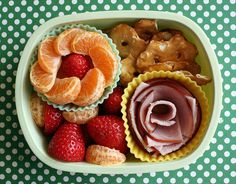 Wow, this blog is great.  Lots of ideas for creative lunches, even if you don't put them in a box.