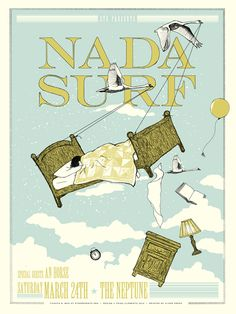 GigPosters.com - Nada Surf - An Horse
