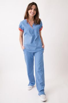 Dental Scrubs, Stylish Scrubs, Lab Coats, Spandex, Jack Black, Caregiver, Mayo, Coral, Jumpsuit