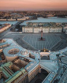 St. Petersburg City Wallpaper, World Photo, Amazing Architecture, Aerial View, Big Ben, Paris Skyline, The Good Place, Saints, Places To Visit