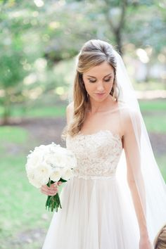The Bride wore Penelope. #lovemarley #bhldn Photo by W Photography