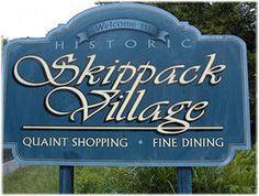Visit Skippack Village : quaint shopping and fine dining