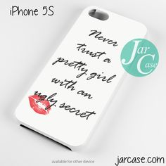 Pretty Little Liars Quote Phone case for iPhone 4/4s/5/5c/5s/6/6 plus