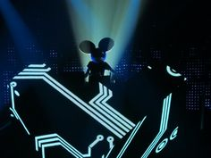Deadmau5. Simply one of the best DJs in the world, and incredible live shows.