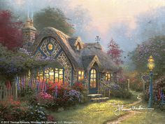 Candlelight Cottage - Classic by Thomas Kinkade